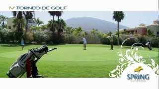 Golf Spring Arona Gran Hotel - Iv Tournament Golf Spring Hoteles Tenerife