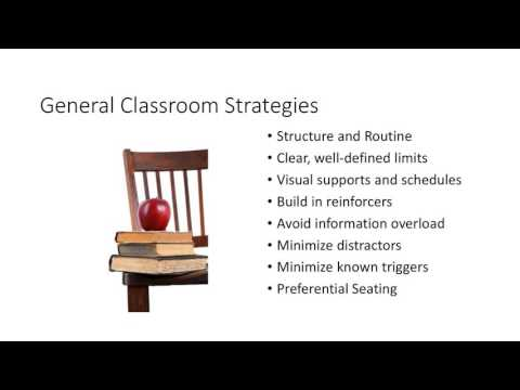 Support for Students with Executive Functioning Deficits