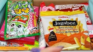 TryTreats Japanese Candy Unboxing (ASMR whisper, eating and packaging sounds)