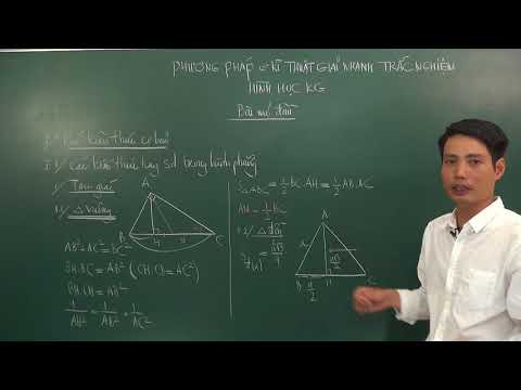 Kiến thức cơ bản về hình học không gian