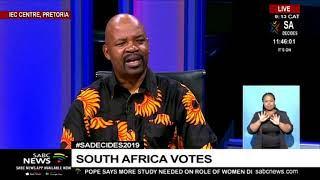 #SAVOTES2019 | Prof Tinyiko Maluleke on Elections 2019