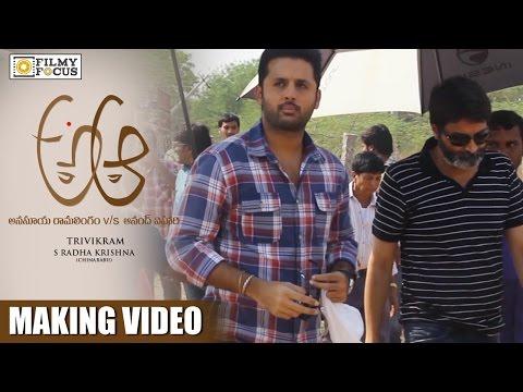 Yaa Yaa Song Making Video || A Aa Telugu Movie Songs || Nithin, Samantha, Trivikram - Filmyfocus