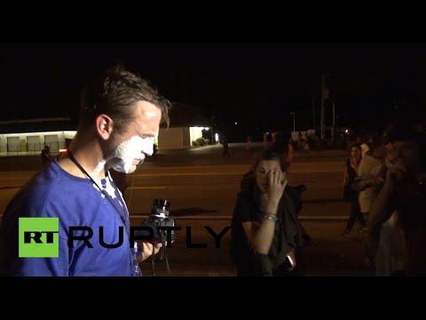 Ferguson war zone video: Journalist tear-gassed badly, SWAT police fire rubber bullets