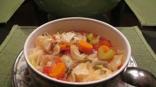 Густой капустный суп
