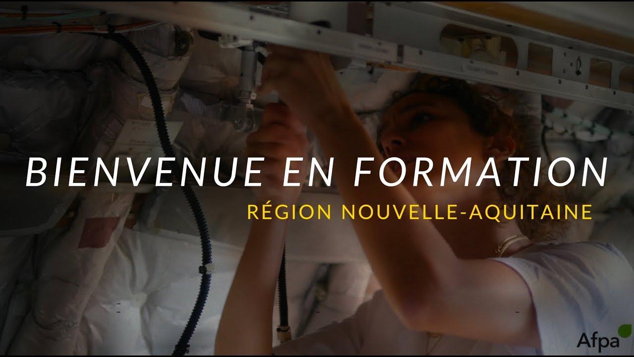 Bienvenue en formation - Région Nouvelle-Aquitaine
