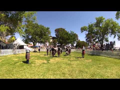 Kevin R. Blandford Memorial Pipe Band Grade 5 Medley- Las Vegas Highland Games 2014