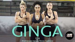 Baixar Ginga  I IZA (Part. especial Rincon Sapiência) I Coreografia JUST Move