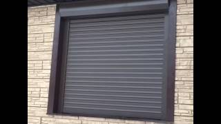 Защитные рольставни на окна(Специалисты ТПК