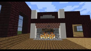 Idea For Generikb's Nether Brick Room (fireplace)