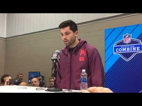 Baker Mayfield talks (and plays) a good game but can the Browns really afford to match his boldness?-- Bud Shaw