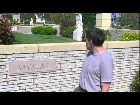 Tombe de Telly Savalas au Forest Lawn Drive de los Angeles