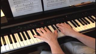 Remember When It Rained -- Josh Groban -- Piano