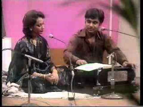 Jagjit Singh & Chitra Singh Live at BBC (early 1980's)