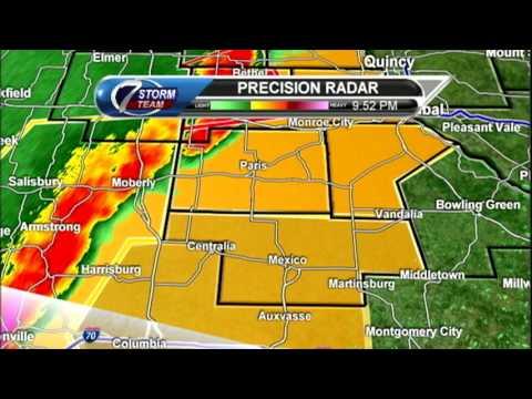 KHQA 3/6/17 Live Tornado Coverage (Shelbyville, MO)