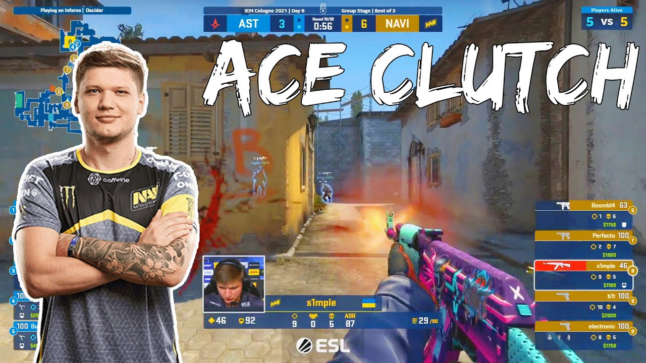 When S1mple clutches ! #6 (vs Astralis, G2, Gambit ...)