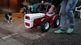Modeltruck Tractor Bertolini 424 drive test one