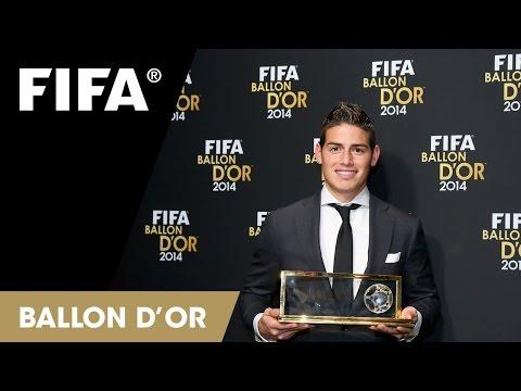 James Rodriguez on winning the FIFA Puskas Award (Spanish)