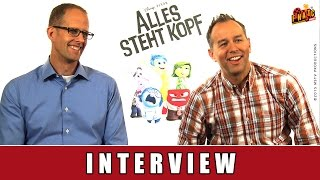Alles steht Kopf (Inside Out) - Interview Pete Docter | Disney-Directors | Jonas Rivera
