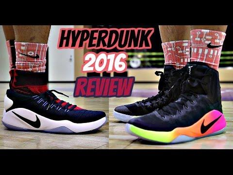 Nike Hyperdunk 2016 Performance Review! - (Flyknit vs. Standard)