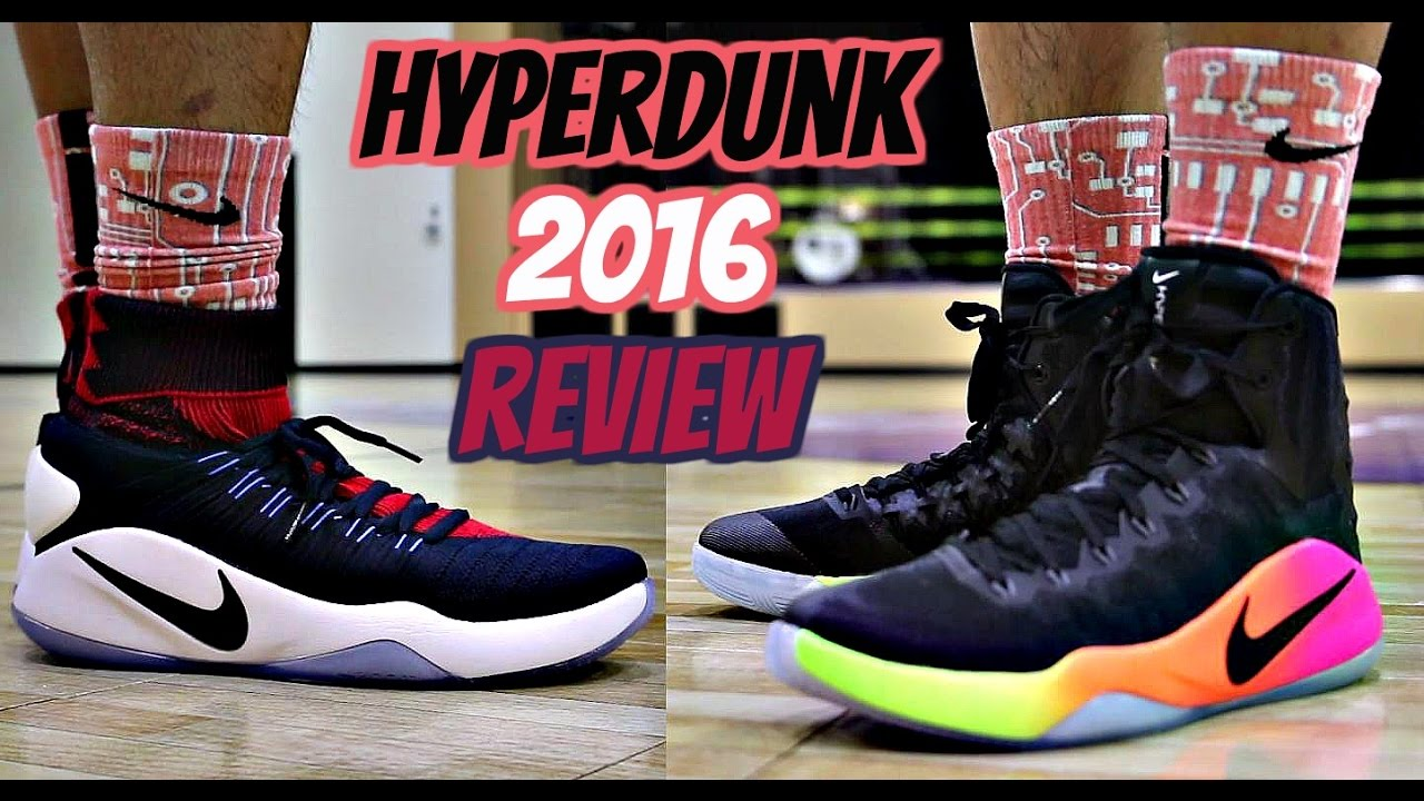 a5e0b3d51722 Nike Hyperdunk 2016 Performance Review! - (Flyknit vs. Standard ...