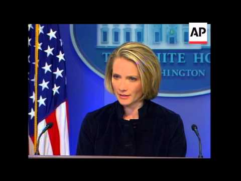 White House press secretary Dana Perino said Friday that President Bush did not have any recollectio