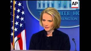 White House press secretary Dana Perino said Friday that President Bush did not have any recollectio