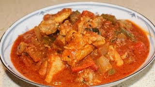 Hot & Spicy Chicken Curry