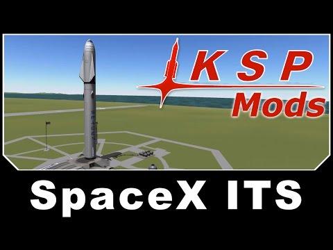 KSP Mods - SpaceX Interplanetary Transportation System