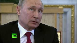 «Хакеры — они же как художники»: Путин ответил на обвинения в адрес России