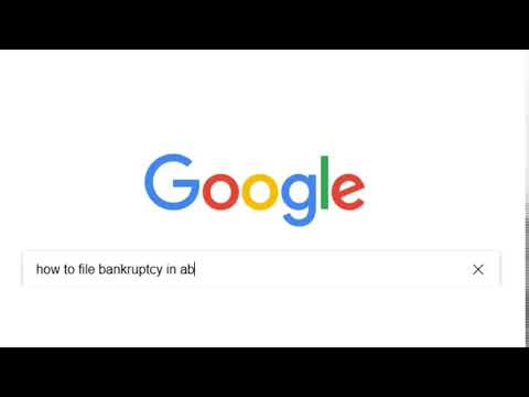 BNA Google Search   How To File Bankruptcy In AB