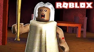 grand mother to forget his medication... ROBLOX (Granny)