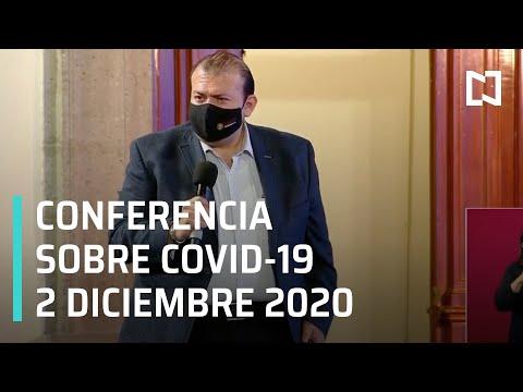 Conferencia Covid-19 en México - 2 de Diciembre 2020