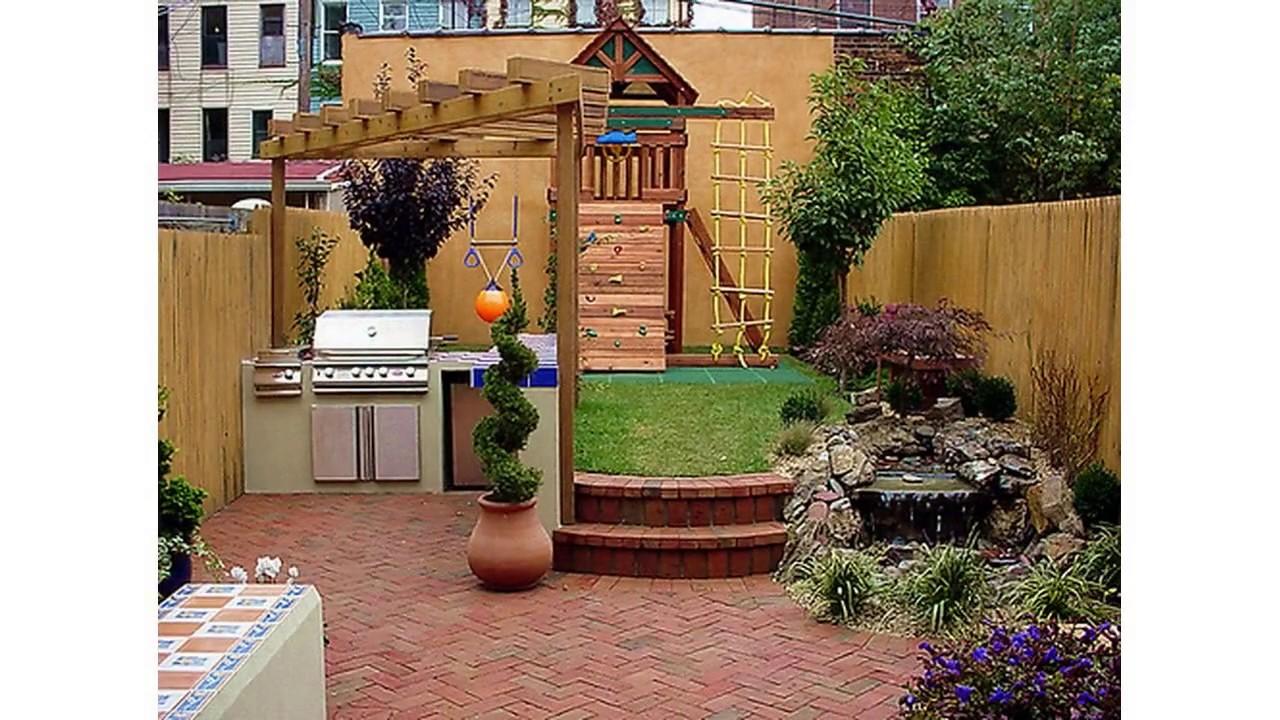 Hermosas ideas de jard n para peque os patios traseros Jardines verticales para patios pequenos