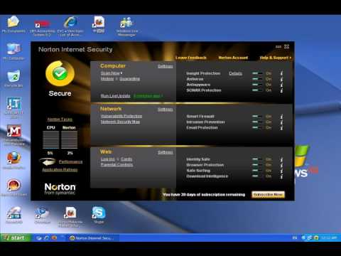 Download norton antivirus & internet security 2010 free with trial.