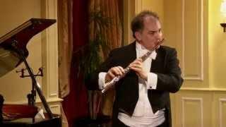 """Carl Reinecke: """"Undine"""" Flute Sonata Op. 167 - Andante tranquillo- Claudio Barile - Paula Peluso"""