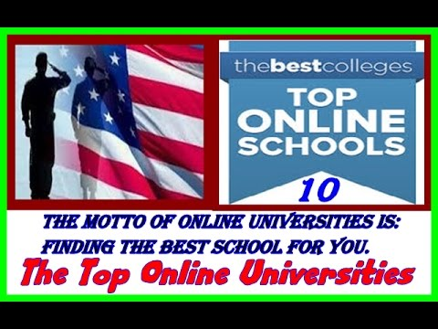 The Top Online Universities - 10 most recognized online colleges - online colleges