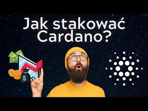 Jak prosto stakować Cardano? Stakowanie Cardano w Yoroi Wallet.
