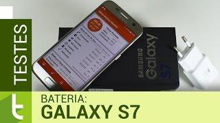 Autonomia do Samsung Galaxy S7 | Teste de bateria do TudoCelular