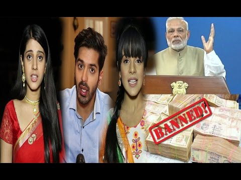 TV Actors Reacts On Rs 500 & Rs 1000 Notes  Banned By PM Modi's | Hindi Serial News