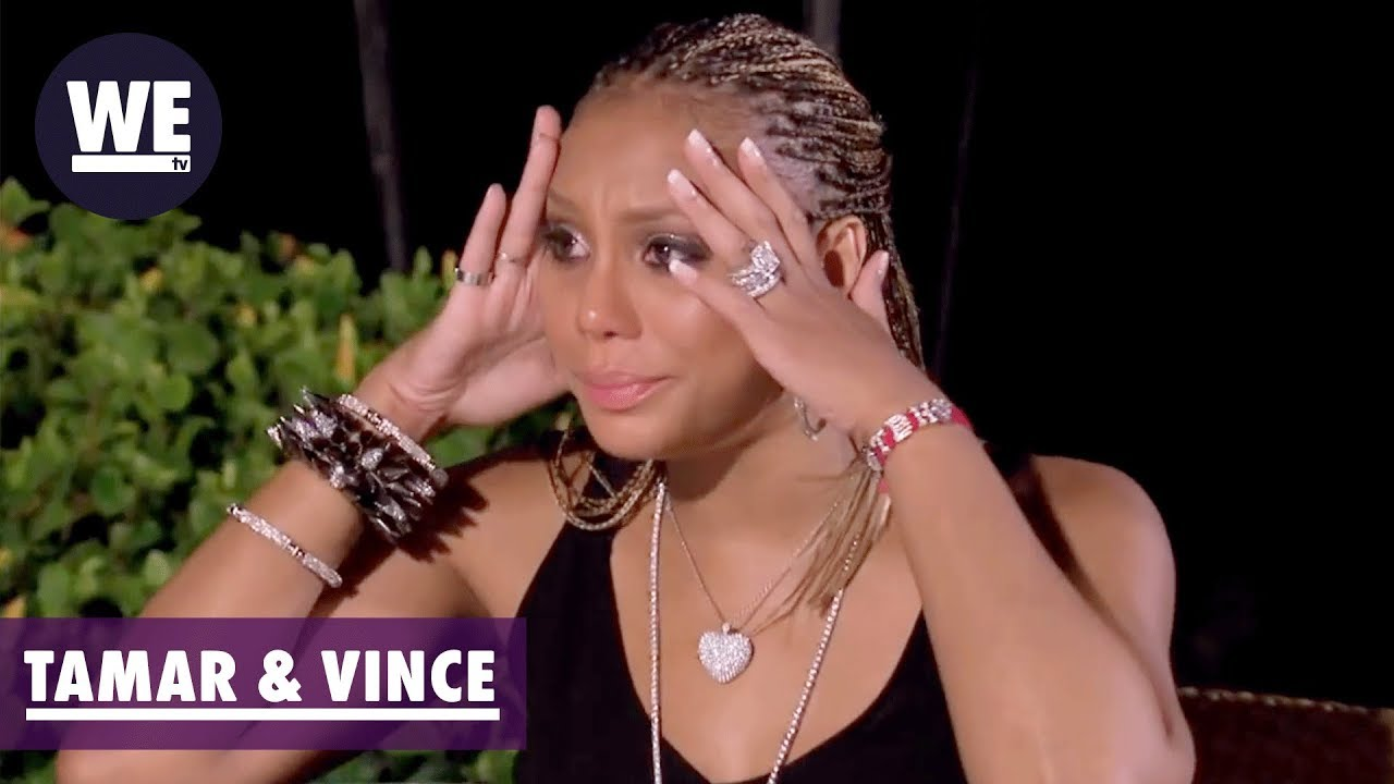 tamar braxton with box braids tamar vince trouble in