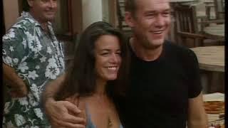 Ian Gillan and Jimmy Barnes on Australian TV in 2001.