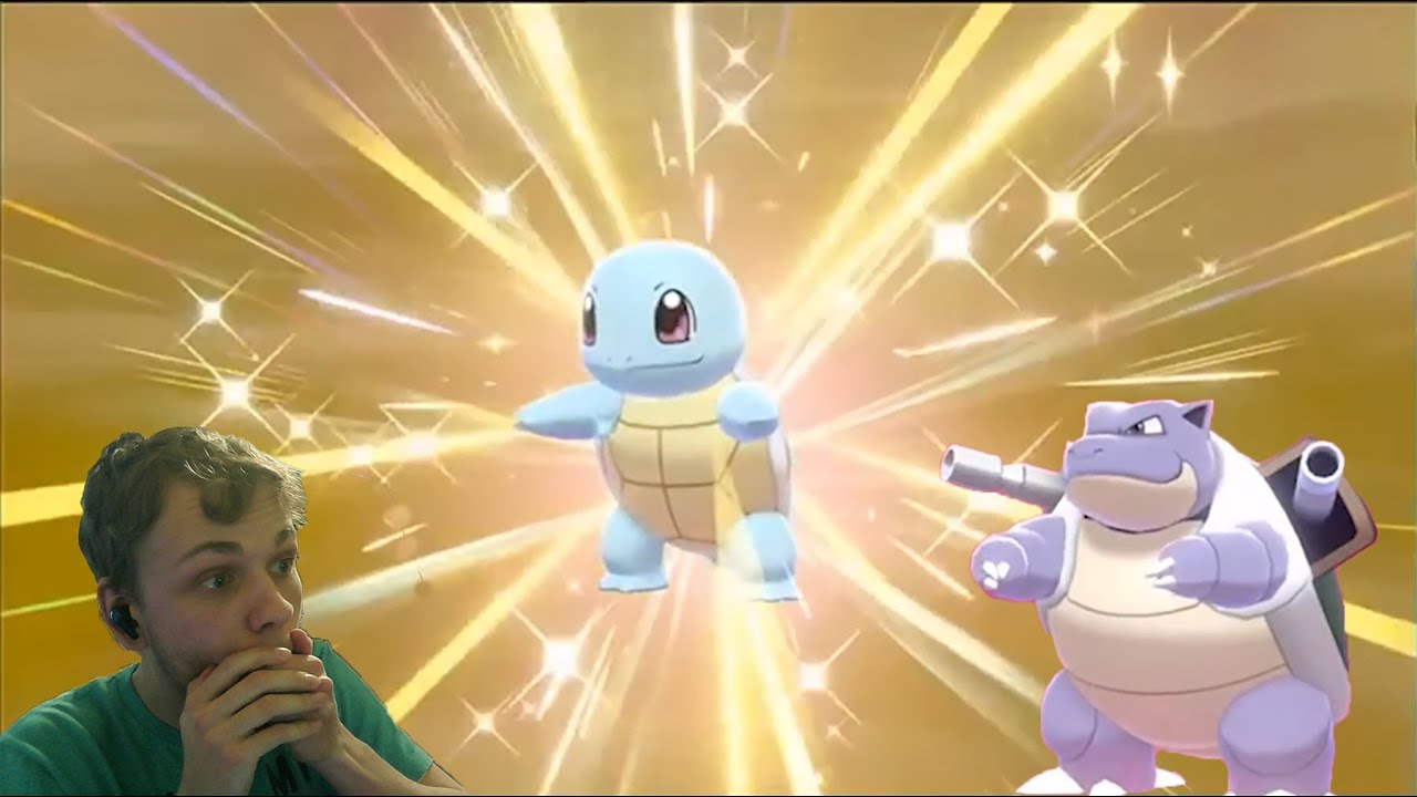 Shell Shocking Shiny Shiny Squirtle Blastoise In Pokemon Sword Shield Youtube Squirtle is a water pokémon given as a kanto starter, found wild in kanto, and bred from squirtle, wartortle, or blastoise in pokemmo. shell shocking shiny shiny squirtle blastoise in pokemon sword shield