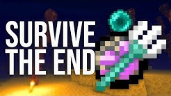 7 Hacks to SURVIVE The End in Minecraft!