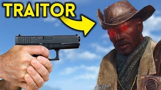 Fallout 4 - The TRAITOR - Outcasts and Remnants Part 2