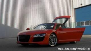 Audi R8 V10 FSI *V8 LOOK LIKE* loud revving