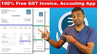 100% Free Billing App - No Hidden Charge -  Vyapar Free GST Billing App