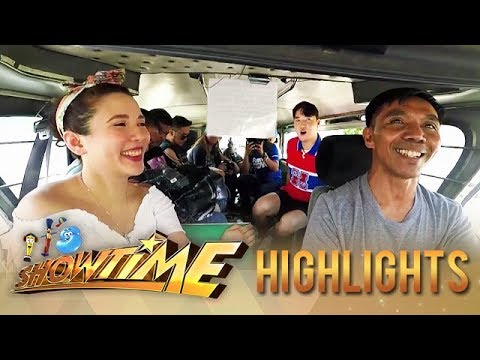 Jeepney Driver with Karylle & Ryan Bang | 2019 Holy Week Special | It's Showtime