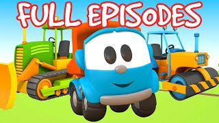 Leo the truck - Full episodes. Car cartoons in English