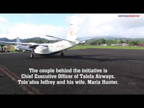 Milestone for Talofa Air