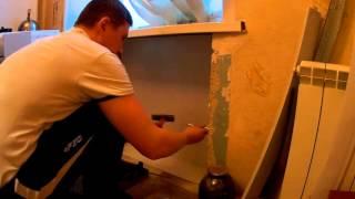 установка и внутренняя отделка хрущевского холодильника